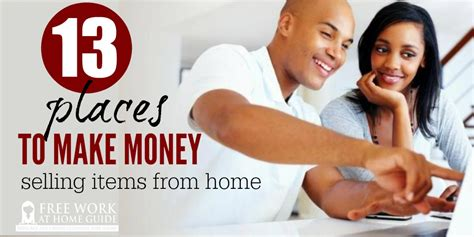 What Products To Sell Online To Make Money - 13 places to make money selling items from home