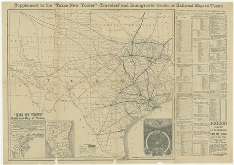 railroad map of texas hazardous business map texas new yorker s railroad map 1874 texas state library tslac