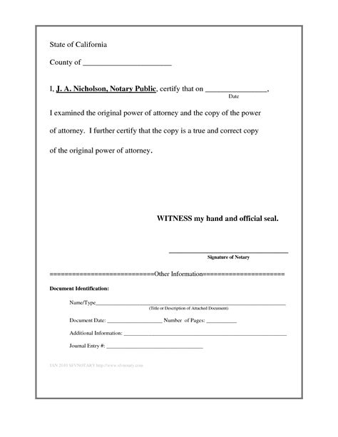 Best Photos Of Notary Signature Template Word Blank Notary Template Sle Of Notary Notary Template Word