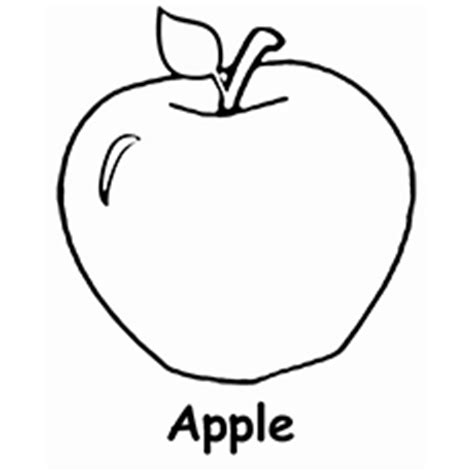 apple coloring pages kindergarten pictures of apples to color clipart best