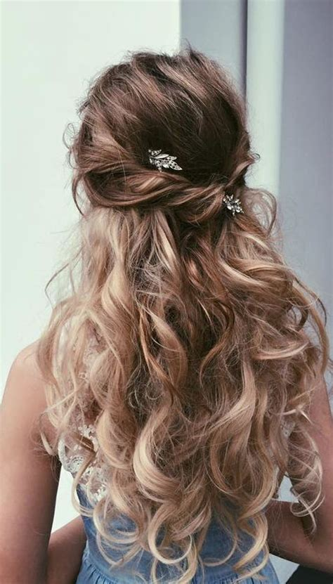 hairstyles formal half up 18 elegant hairstyles for prom best prom hair styles 2017
