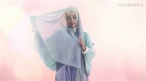 tutorial hijab qonitah al jundiah tutorial hijab day to night by hijabenka com youtube