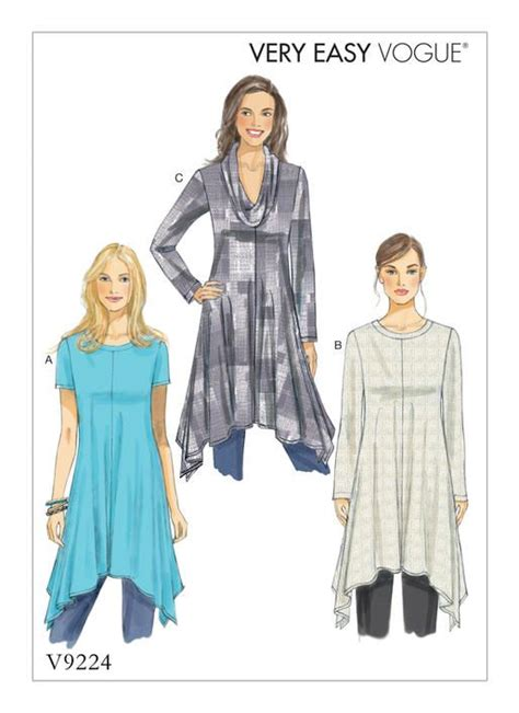 vogue patterns 9305 misses tunic and pants 1000 images about tunic patterns on pinterest sewing