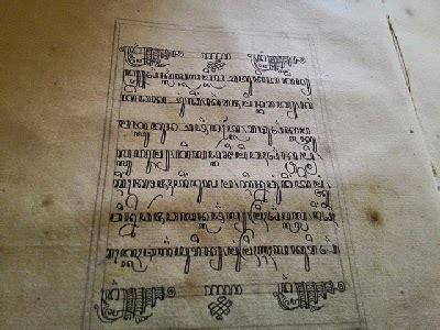 manuskrip jawa kuno kembali  indonesia setelah
