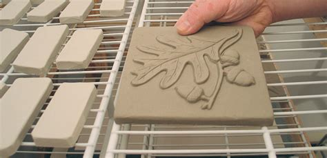 How To Make Handmade Ceramic Tiles - flat tiles the easy way ceramic arts daily