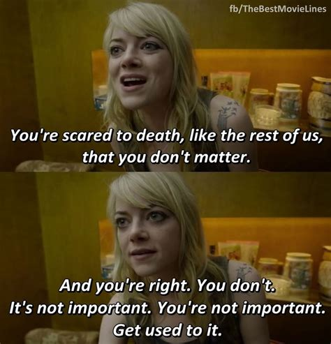 quotes film birdman 25 best emma stone quotes on pinterest uplifting news