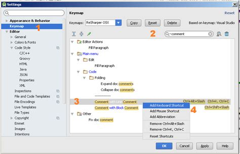 android studio shortcuts comment shortcut android studio stack overflow