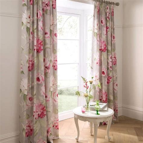 Bedroom Curtains From Dunelm Dorma Pink Nancy Lined Pencil Pleat Curtains Dunelm