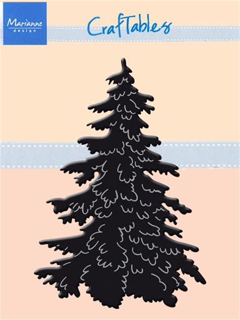 marianne design craftables die christmas tree
