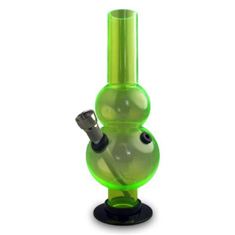 Bong Acrylic Water Pipe Polos Ulir Miring mini acrylic waterpipes shiva