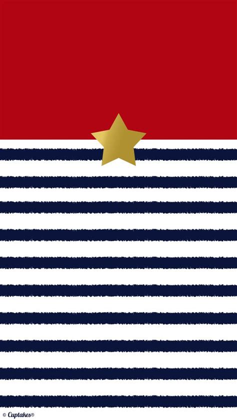 gorgeous classic stripe gold star phone wallpaper
