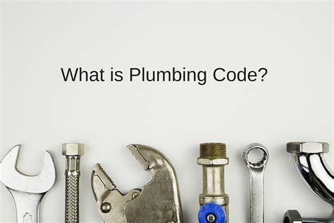 Pennsylvania Plumbing Code by What Is Plumbing Code Plumbing