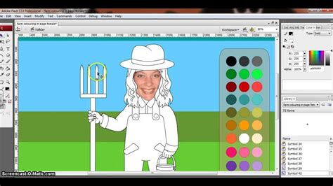 tutorial flash interactive tutorial on how to programme a flash interactive colouring