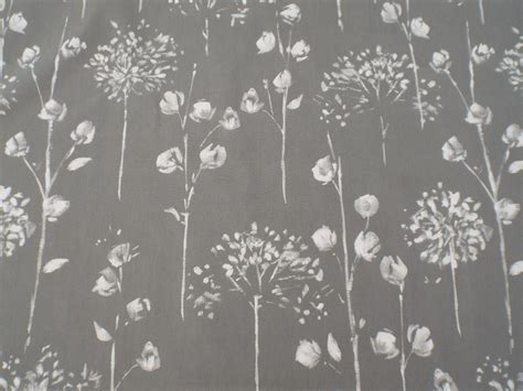 grey and white curtain fabric windsor grey white floral fabric the lshade barn