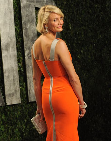 Cameron Diaz Is Back by A Back Of Cameron Diaz S Con Gown We The