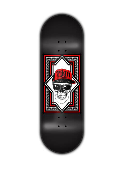Planktoon Fingerboard Top Dual Set Deck Collection planktoon deck quot hat quot pd0051