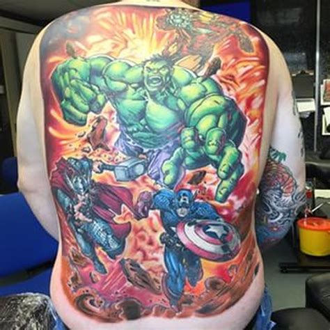 avengers tattoos awesome tattoos nerdtorious
