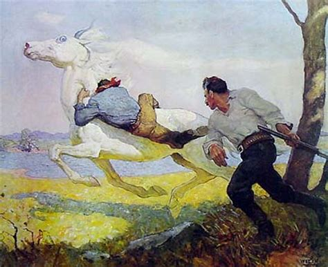 Drawing N Painting by Blue Lock The By Nc Wyeth New Zealand Prints