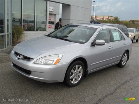 2003 Honda Accord Ex by Satin Silver Metallic 2003 Honda Accord Ex V6 Sedan
