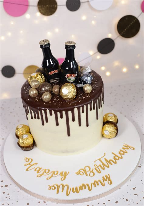 baileys chocolate drip cake cakey goodness