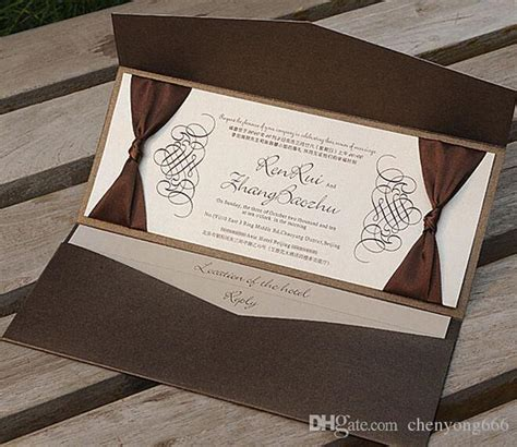 Brown Wedding Invitations by Wedding Invitations Dickybird Designs