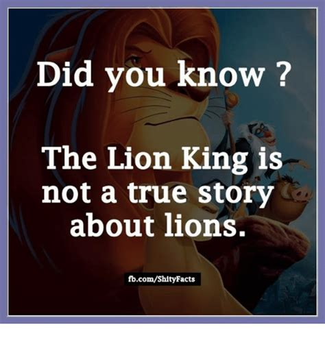 Did You Know Meme - 25 best memes about lion lion memes