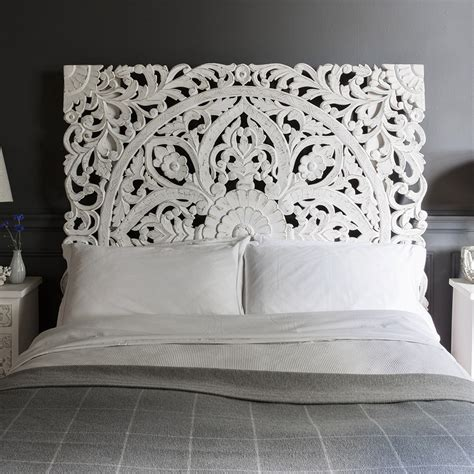carved headboard 10 awesome bedroom decor ideas with wooden headboards