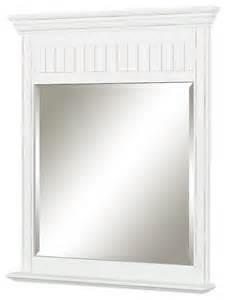 cottage style bathroom mirrors cottage retreat mirror antique white style