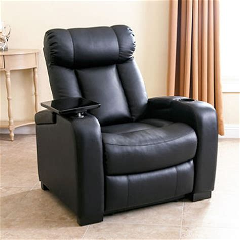 larson leather reclining home theater chair assorted