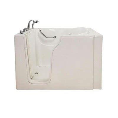 lowes walk in bathtub aquam spas aquam 5535 bariatric walk in air bath bathtub lowe s canada