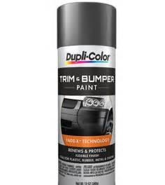 trim bumper paint aerosol dupli color