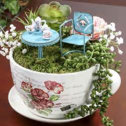 french inspired tea cup and saucer flower planter vase and bowl fillers home decor
