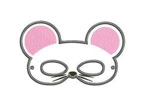 Mouse Mask Template Printable by 10 In The Hoop Animal Masks Entire Pack Only 2 99