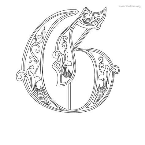decorative lettering templates stencil letters g printable free g stencils stencil