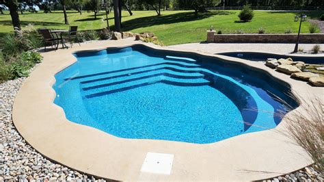 Backyard Pools Ohio Pool Styles And Colors Easy Living Pools In Ground
