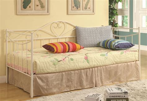 twin size day bed white metal twin size day bed steal a sofa furniture