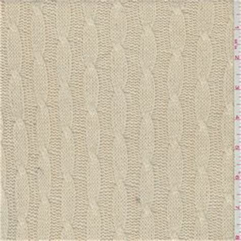 cable knit fabric by the yard ecru silk cable knit 33719 fabric by the yard at