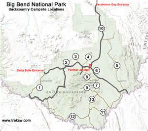 backcountry cing in big bend national park the