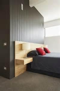 tete de lit avec chevet floating nightstand ikea woodworking projects plans