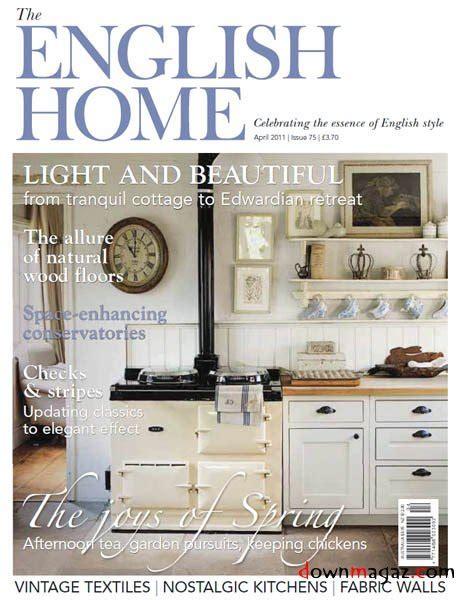 british home design magazines the english home april 2011 uk 187 download pdf
