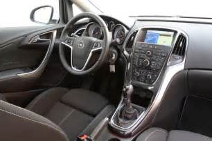 Opel Astra Sedan Interior Foto Prueba Opel Astra Sed 225 N 1 4 Turbo 140 Cv Excellence
