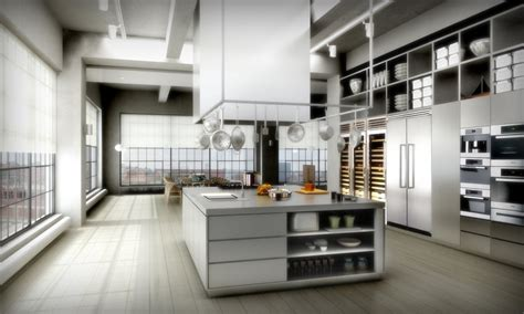 22 beautiful kitchen design for loft apartment