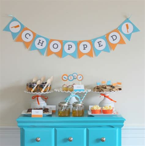party themes tweens tween party ideas chopped party somewhat simple