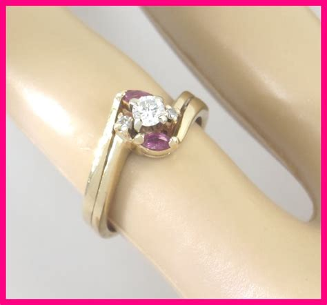 Ruby 5 45 Ct 14k yellow gold marquise ruby