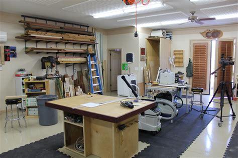 Small Woodshop Layout Ideas