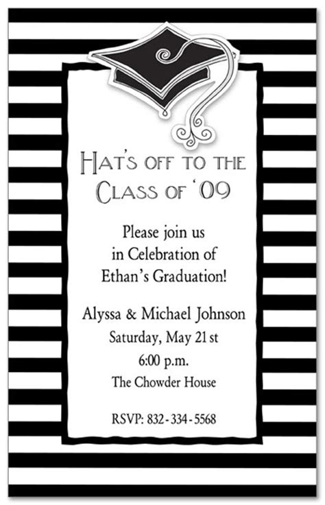 graduation open house invitations house plan 2017