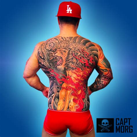 tattoos captain morgan