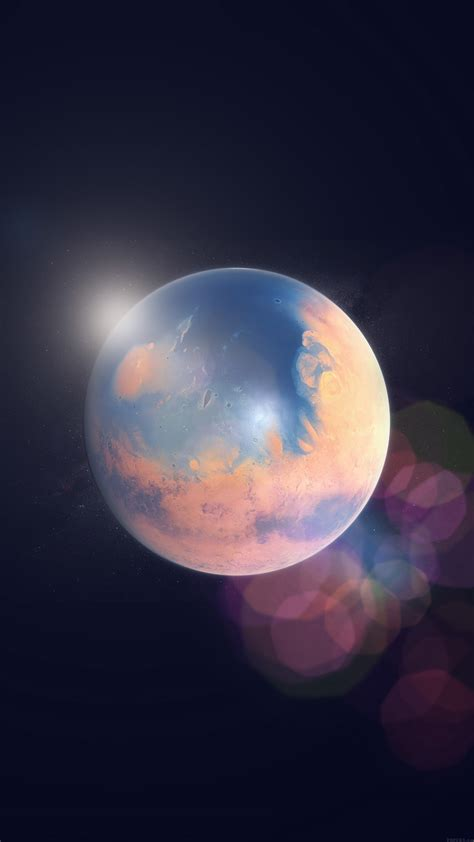 papersco iphone wallpaper ak space earth planet art
