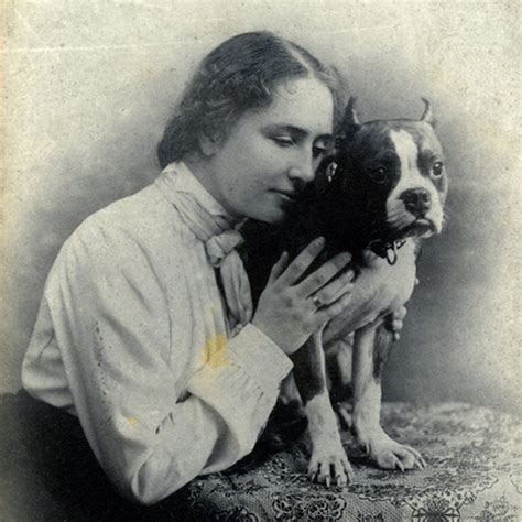 Helen Keller A Life With Dogs Perkins School For The Blind Helen Keller Coloring Page For