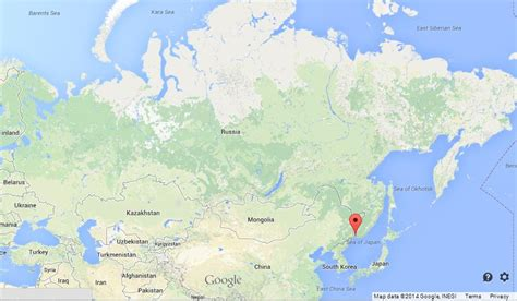 vladivostok on world map vladivostok on map of russia world easy guides